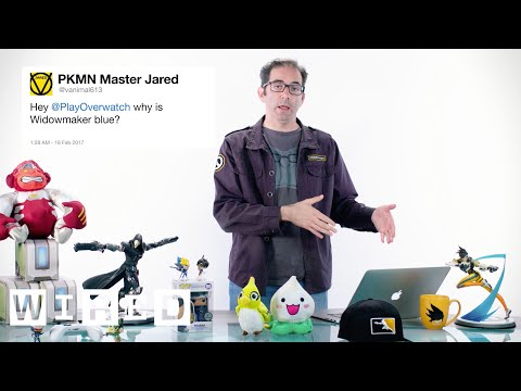 Thumbnail: Blizzard's Jeff Kaplan Answers Overwatch Questions From Twitter | Tech Support | WIRED