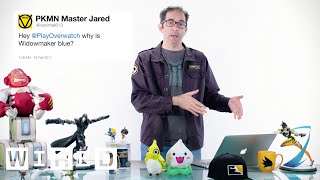 Download Blizzard's Jeff Kaplan Answers Overwatch Questions From Twitter | Tech Support | WIRED Mp3 and Videos