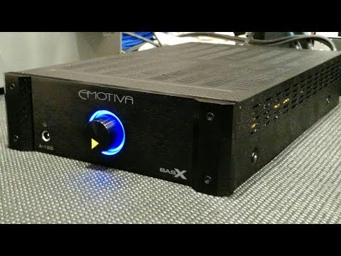 Z Review - Emotiva A-100 BasX (Headphone Amp Murderballs)