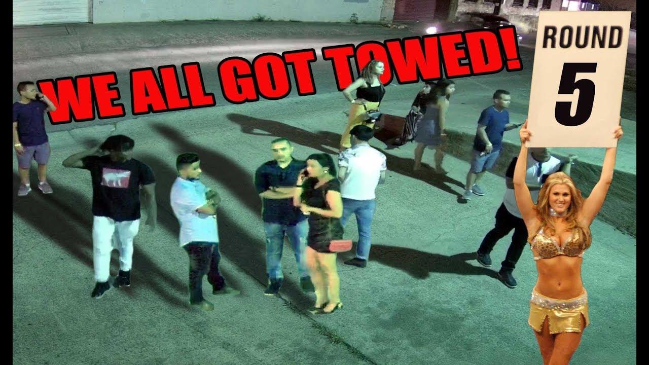 5 carros rebocados e MUITAS pessoas infelizes. + vídeo