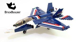 Lego Creator 31039 Blue Power Jet - Lego Speed Build