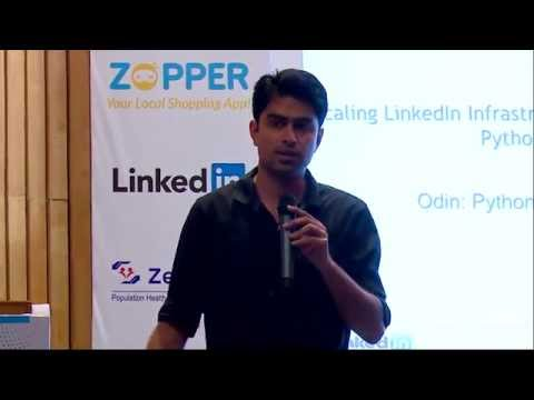 Image from Sponsored - Python at Scale @ Linkedin - PyCon India 2015