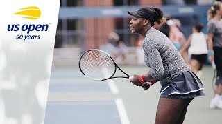 LIVE: Serena Williams Practices at the 2018 US Open