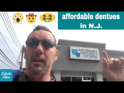 Affordable Dentures in N.J. - Important Message
