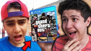 ESTE NIÑO DICE QUE LE REGALARON EL GTA 6... Grand Theft Auto VI