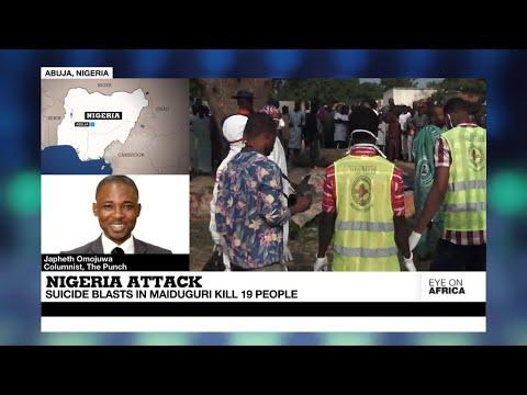 Nigerian city of Maiduguri shaken by deadliest attack in months