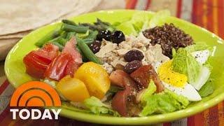 Al Makes Nicoise-style Tuna And Quinoa Salad | Today