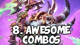 8 AWESOME RISE OF SHADOWS COMBOS!