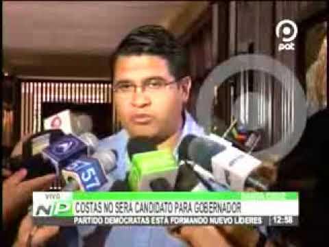 25092017   VLADIMIR PEÑA   COSTAS NO SERA CANDIDATO A GOBERNADOR   RED PAT