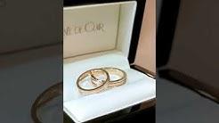 Renée De Clair класически брачни халки 18 карата злато