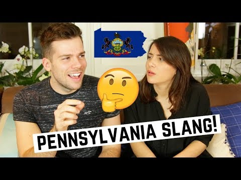 🇬🇧British Guess PENNSYLVANIA Slang! 🇺🇸| American vs British