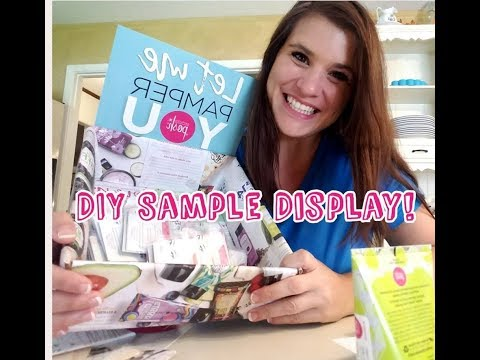 Easy DIY Sample Display for Your Business! Cheap!