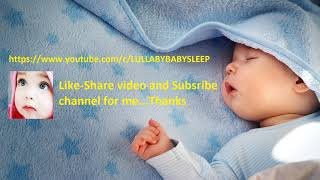 Super Relaxing Baby Musicbox Lullaby ♥ Soft Calming Bedtime Melody For Sweet Dreams ♫ Good Night
