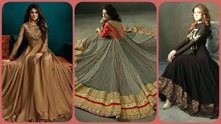 Top Beautiful and Stylish Long Maxxi Frocks Designs //Indian and Pakistani Style 2019