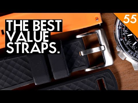 The Best Budget Watch Straps - Ritche Silicone, Top Grain Leather And Vintage Strap Review