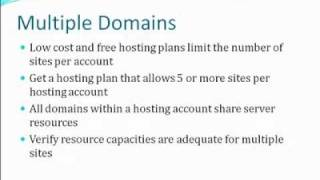 Web Hosting Tips - Advice for selecting a Web Hosting Service Provider