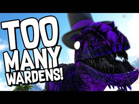 ARK Survival Evolved Ep #48 - SURROUNDED BY WARDENS! (Modded Survival)