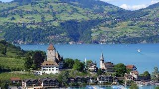 Путешествие по Швейцарии. Город курорт Интерлакен(Швейцария сказочная по своей красоте страна. Путешествие по Швейцарии продолжается. В этом видео город..., 2015-10-11T19:21:05.000Z)