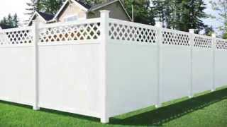 Amarroso Olympia Lattice Top Privacy Fence