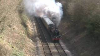 5690 'Leander' & 48151 on Chiltern Centenary Specials (01/04/06) Thumbnail