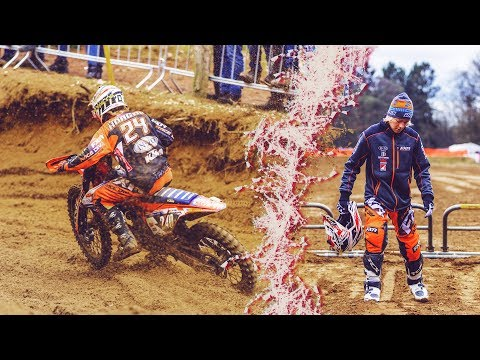 Two start crashes racing Round 1 of Dutch Masters of Motocross