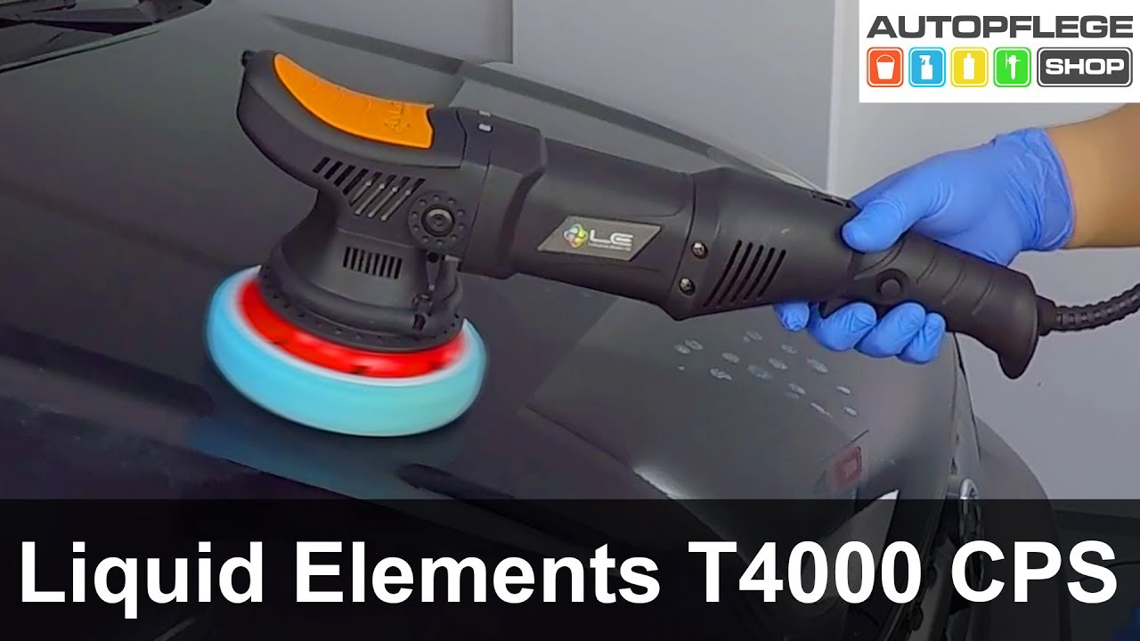 liquid elements t4000 cps poliermaschine unboxing test. Black Bedroom Furniture Sets. Home Design Ideas