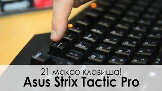 Обзор игровой клавиатуры Asus STRIX Tactic Pro — Только Cherry!
