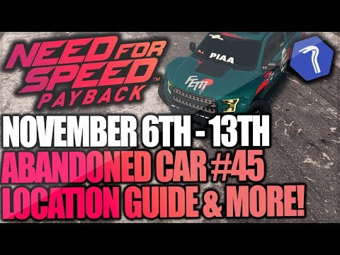 Need For Speed Payback Abandoned Car #45 - Location Guide + Gameplay - Faith Jones Ford F-150 Raptor