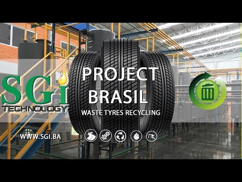 SGI Project Brasil - Recycling waste tyres into useful materials
