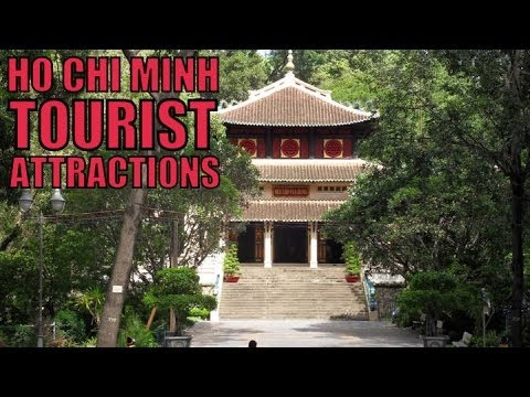 Vietnam Mysterious #4: Ho Chi Minh's Temple, Pagoda, Museum, Post Office, Notre Dame & Saigon River