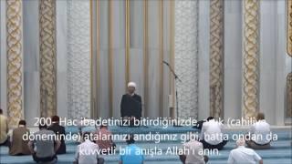 Mansur Sağır-Bakara (197-202)