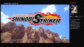 Playing NARUTO TO BORUTO Shinobi Striker [DEMO]