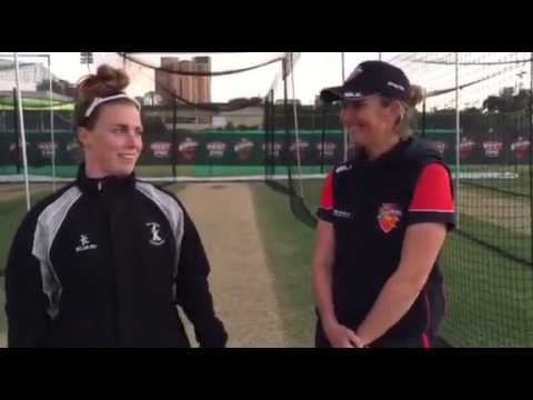 Mary Waldron & Charlotte Edwards from Adelaide