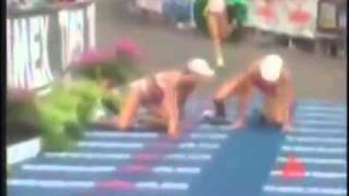 Ridiculous Marathon Finish
