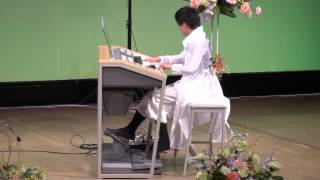"""12.4.29 福崎エルデホールで行なわれたピアノ&エレクトーン発表会で、""""..."""