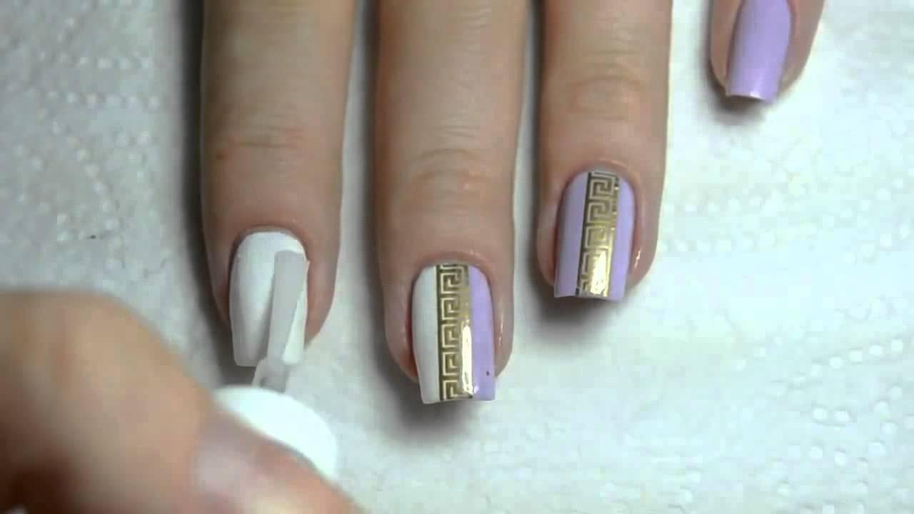 Дизайн ногтей наклейки