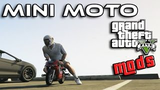 GTA 5 MOD ITA - MINI MOTO - MINI BIKES - GTA 5 MODS GAMEPLAY ITA