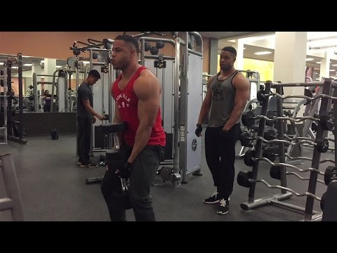 Bodybuilding Legs Workout & Rant @hodgetwins