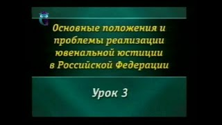 Урок 3. Особенности правового положения несовершеннолетних в административном праве