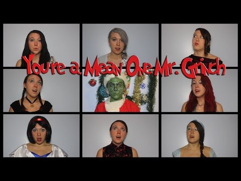 Youre a Mean One Mr Grinch Disney Style A capella  Avonmora