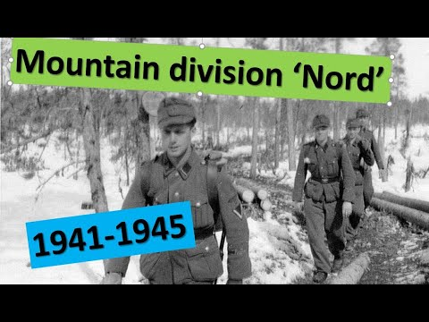 A history of the German 6th SS Mountain Division 'Nord'