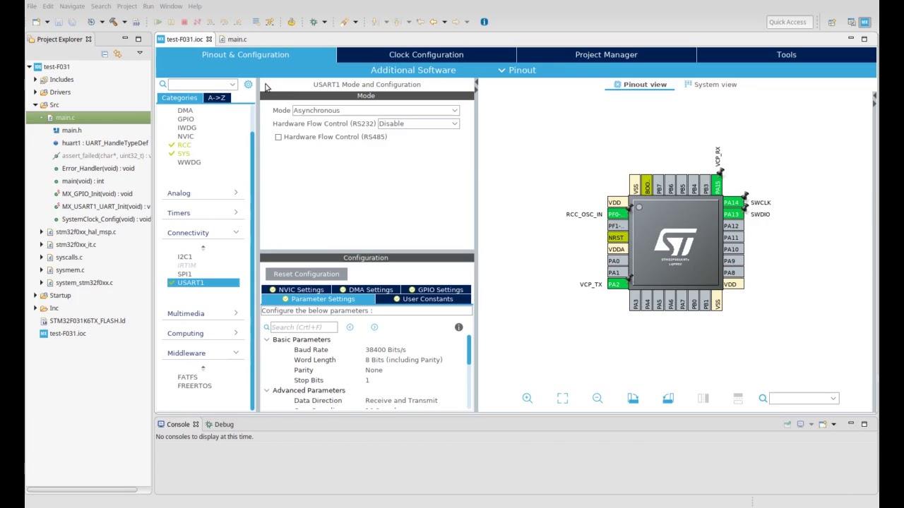 STM32CubeIDE - IDE and CubeMX together