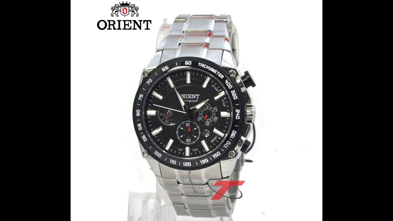 a81e4a393f8 Relógio masculino Cronógrafo Orient MBSSC078 P1SX - YouTube