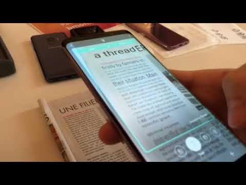 Bixby Vision sur Samsung Galaxy S9