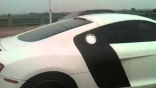 Audi R8 vs My Motorbike