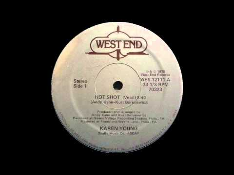 Karen Young  Hot Shot West End Records 1978