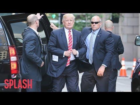 How Donald Trump Caused the Secret Service to go Broke   Splash News TV