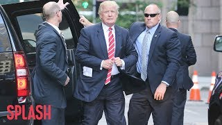 How Donald Trump Caused the Secret Service to go Broke | Splash News TV