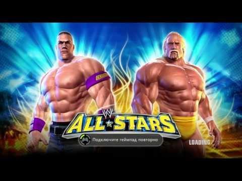 ➋★ WWE All Stars Xbox 360 Gameplay - Рестлинг - ИГРА для мальчиков.