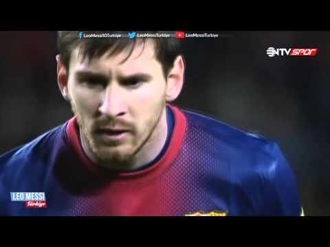 Leo Messi'nin, Osasuna'ya Att??? 4 Gol ? Türkçe Spiker ? 2013